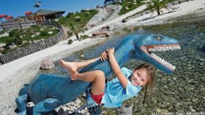 Abenteuer für die ganze Familie im Triassic Park auf der Steinplatte in Waidring, © Kitzbüheler Alpen PillerseeTal