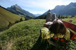 Ruhe und Entspannung am Lechweg©Lechweg