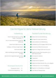 checkliste_Weitwandern