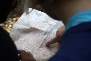 Wege- Karte