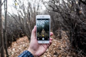 Orientierung mit Handy