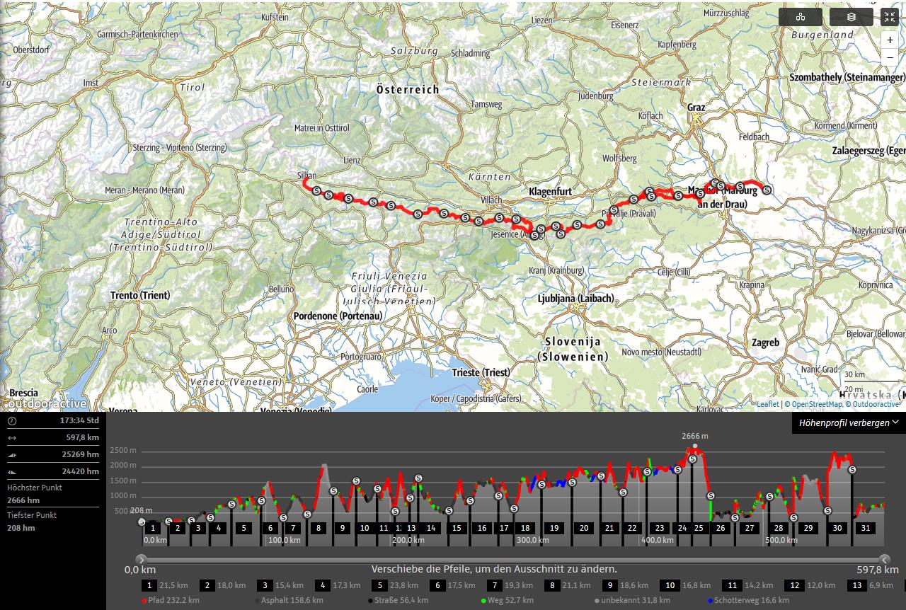 Wanderwege Deutschland Karte.Die 10 Großen Weitwanderwege Und Fernwanderwege In österreich Das