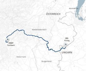 Wegskizze alpannonia - grenzenlos wandern, Copyright TAO Beratungs und Managment GmbH
