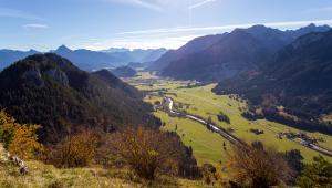 blick-in-richtung-vils-unterhalb-der-ruine-falkenstein, Berge.Mythos.Wandern