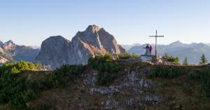 gipfelkreuz-auf-dem-breitenberg, Berge.Mythos.Wandern