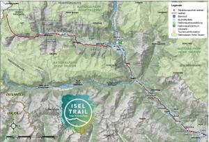 Strecke Iseltrail