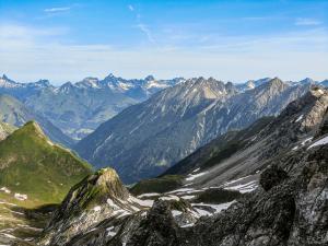Blick in die Allgäuer Hochalpen © Pfronten Tourismus