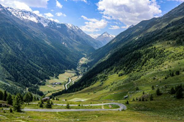 Blick ins Venter Tal © Pfronten Tourismus