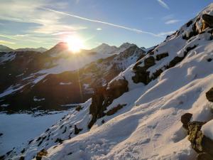 Die Lechtaler Alpen im Morgenlicht © Pfronten Tourismus
