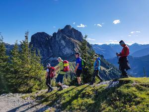 Die erste Etappe vom Breitenberg zum Aggenstein © Pfronten Tourismus