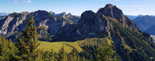 Startpunkt Allgäuer Alpen © Pfronten Tourismus