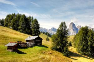 Berghütte Dolomiten © unspalsh
